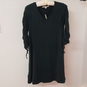 Hunter Green LOFT sweater dress xsp NWT